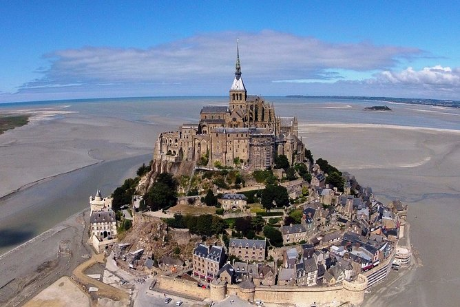 Private 12-hour tour to Mt. Saint Michel from Paris Hotel with driver & guide