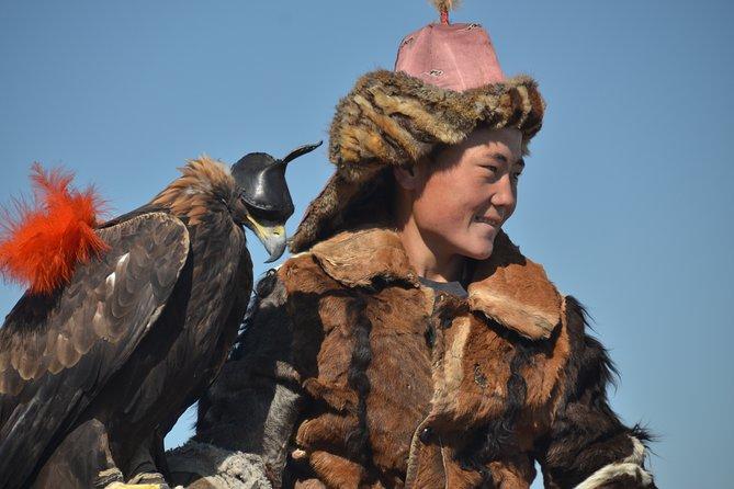 Golden eagle hunting festival 2020
