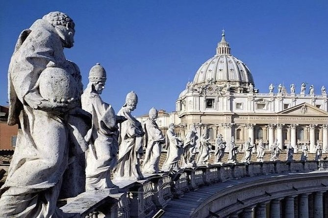 St. peters Basilica self guided tour with reserved entrance