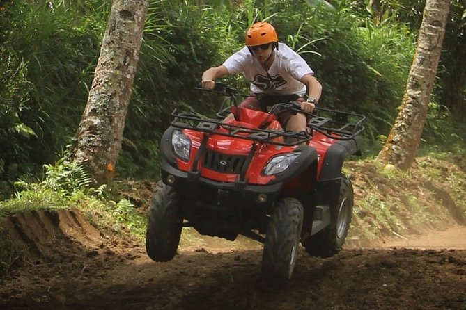 Bali Quad Bike Combine Ayung White Water Rafting with Lunch Included