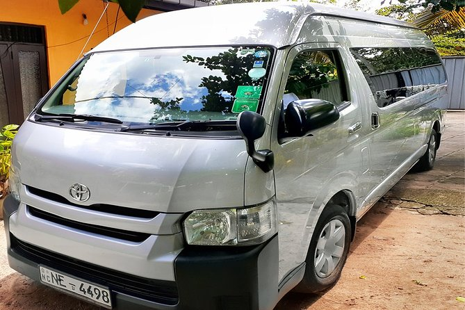 Van Transfer from Pasikudah to Colombo - pick-up & drop-off, one-way