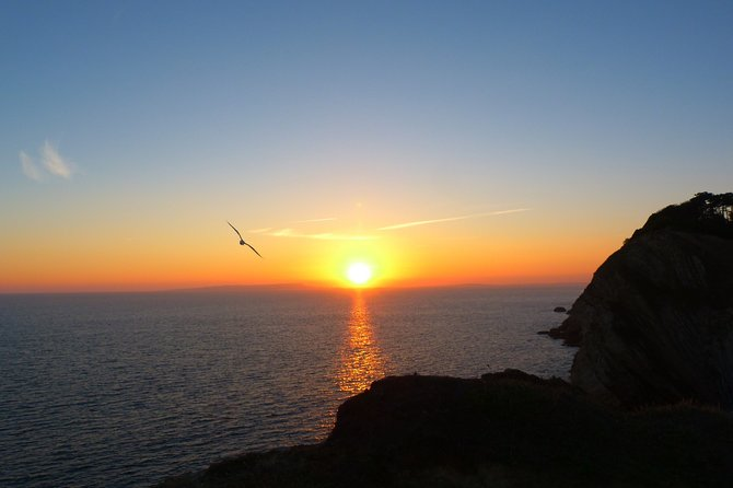 Experience The Jurassic Coast - Private Sunset Boat Tour (For 8 People)