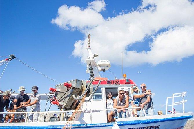 santorini fishing trip all inclusive morning private