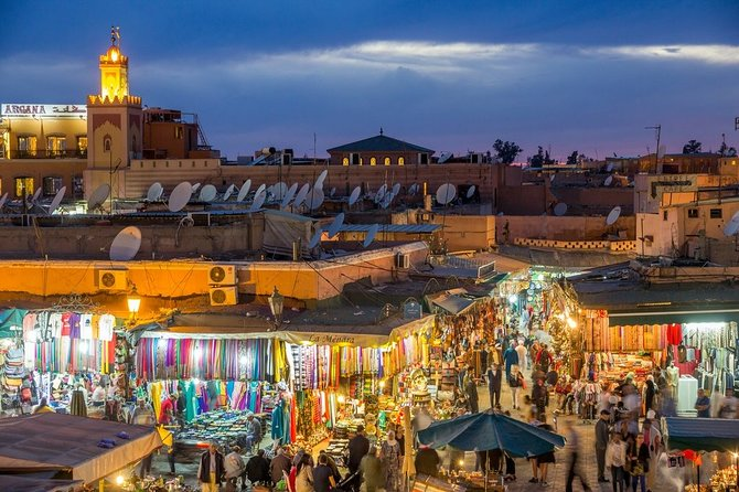 Visite by Caleche - Marrakech by night -