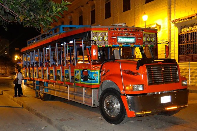 rumba in chiva party bus