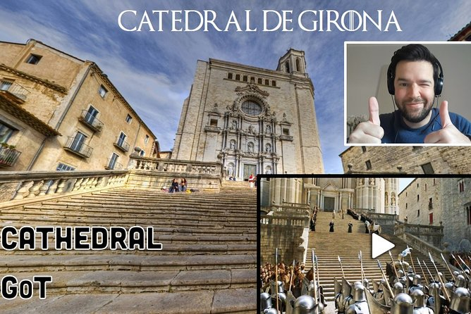Private Medieval Girona and Game of Thrones Live Virtual Tour