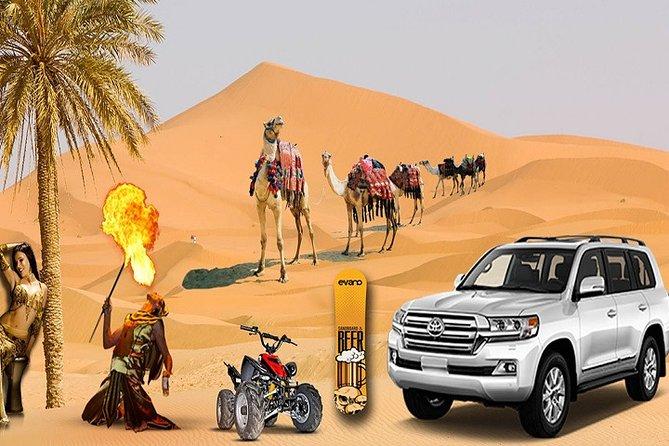Dubai afternoon Desert Safari Private(Weddings & Honeymoon)