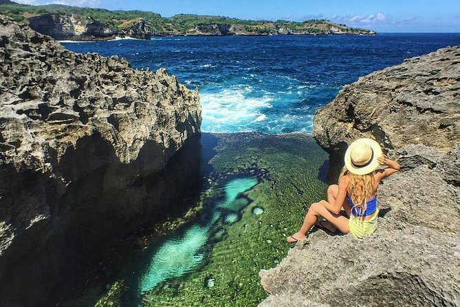 Nusa Penida West Broken Beach, Angel Billabong, Kelingking Beach, Crystal Beach