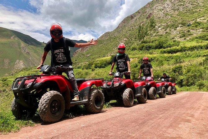 Atv Tour to Perolniyoc Waterfalls in The Sacred Valley