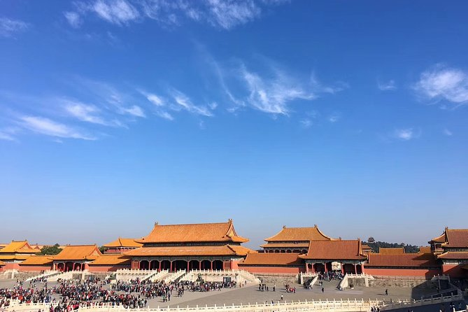 Beijing Private Layover Tour of Forbidden City with Lunch and Airport Pickup
