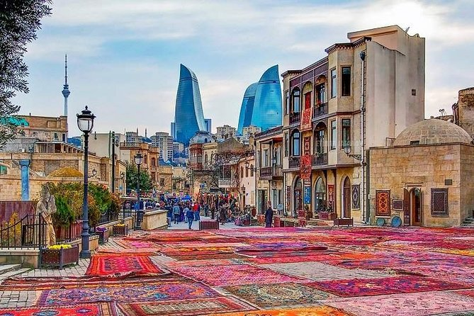 Online Private Old city Baku Tour with local guide. Live from Azerbaijan