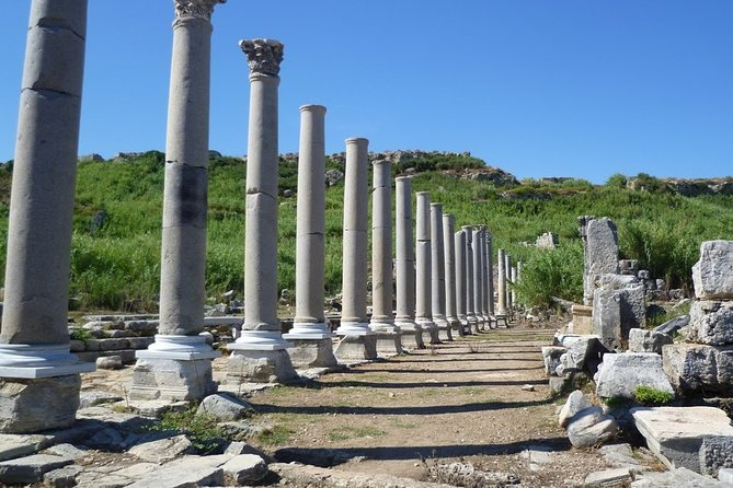 Private Perge, Aspendos, Side, Waterfall Tour 4 to 8 pax