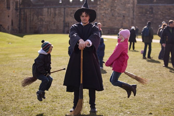 Cruise excursion: A Wizard's Tale at Alnwick Castle