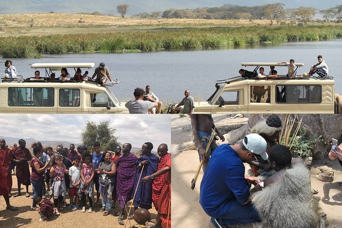 2 Days Tanzania Safari Ngorongoro and 4 days zanzibar Island Beach