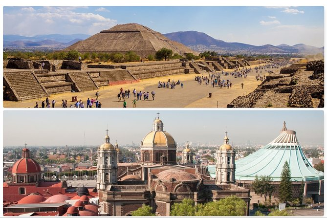 Private tour Teotihuacan and Basilica of Guadalupe