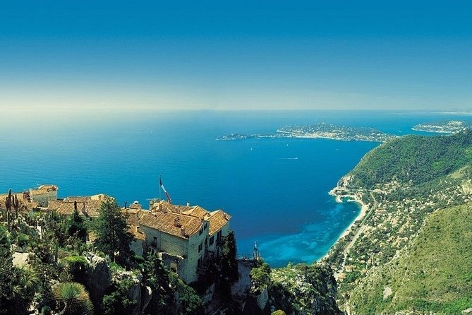 Full-Day Coastline Guided Tour around Monaco Eze from Nice