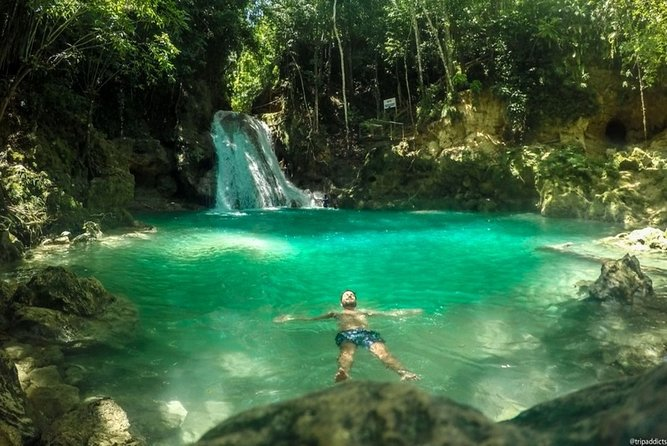 Island Gully (Blue Hole) and Secrets Falls Private Tour