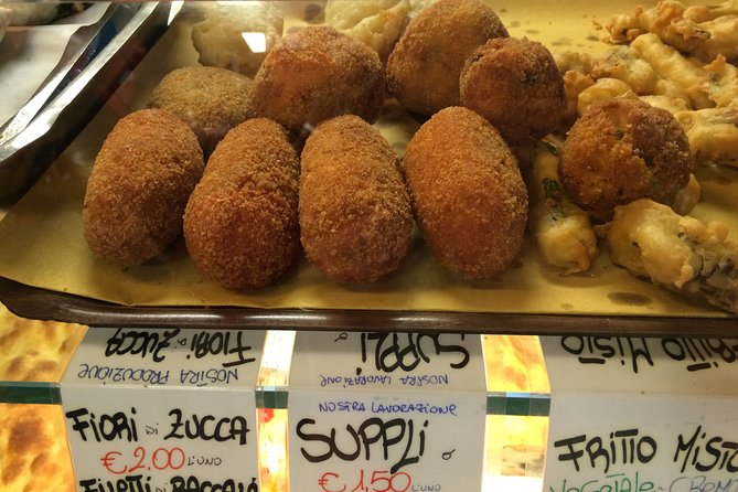 Rome StreetFood Tour with Friendly Local Guide