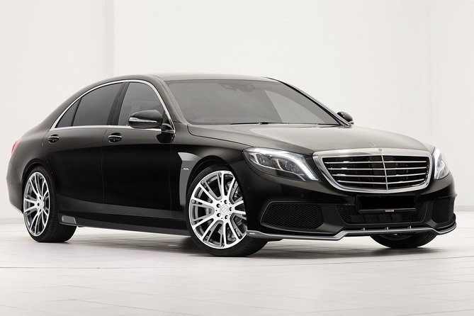 Departure Private Transfer Bruges City to Bruges Airport OST by Luxury Vehicle