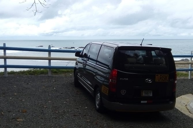 Transfer from SJO airport or San José to Playa Dominical up to 5 passengers