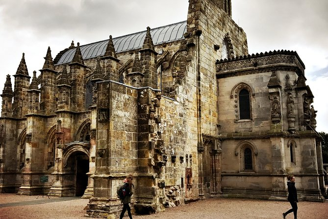 Private Roslyn Chapel and Melrose Abbey Luxury Day Trip
