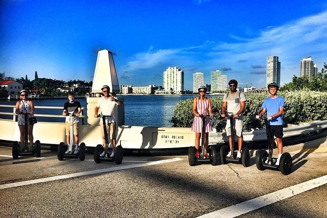 Miami Star Island Segway Tour