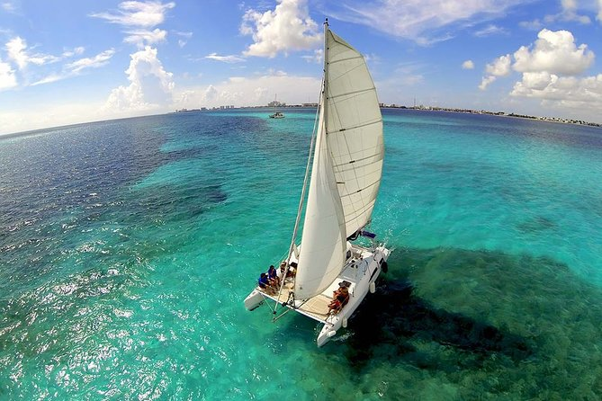 Private Catamaran To Isla Mujeres And Transfer