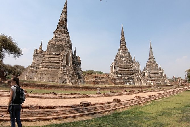 Cycling in Ayutthaya Historical Park