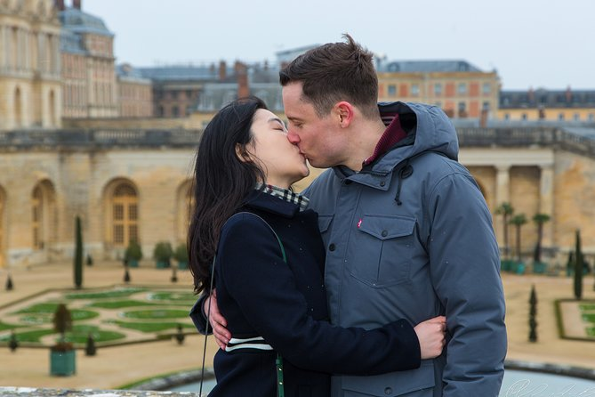 Proposal in Paris at Chateau de Versailles with Photoshoot & Video