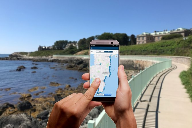Newport Cliff Walk Self-Guided Walking Tour