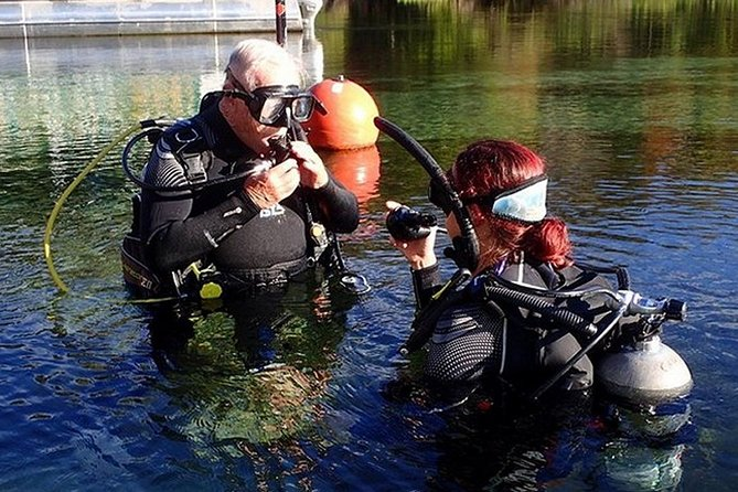 SCUBA Diving Lesson in Crystal River (Rainbow River Dive)