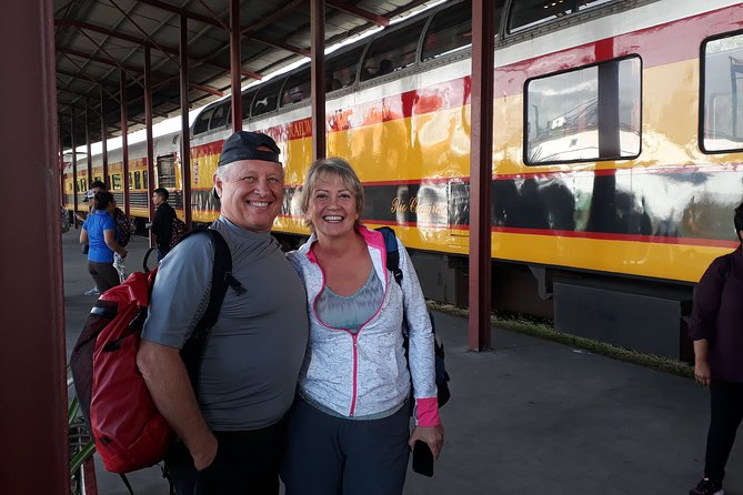 Tren del canal de Panamá, Centro de visitantes de Agua Clara y Fortaleza de San Lorenzo (Colón).