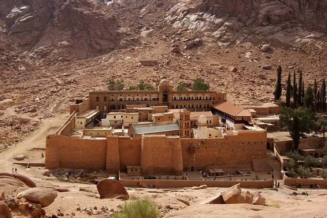 Saint Catherine Monastery & Mousses Mountain by Bus - Sharm El Sheikh