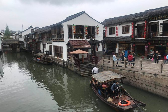 Private Tour of Shanghai Zoo and Zhujiajiao Ancient Town with Lunch