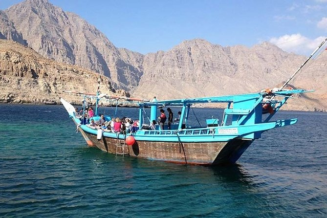 From Dubai Full Day Musandam Dibba Cruise Tour with Lunch