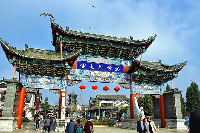 Half Day Private Tour Kunming Dragon Gate, Huating Temple and Grand View Tower