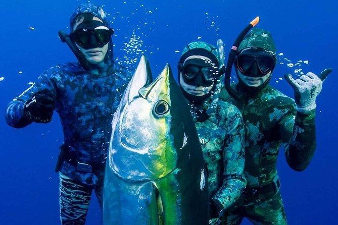 Zanzibar East Side Spearfishing