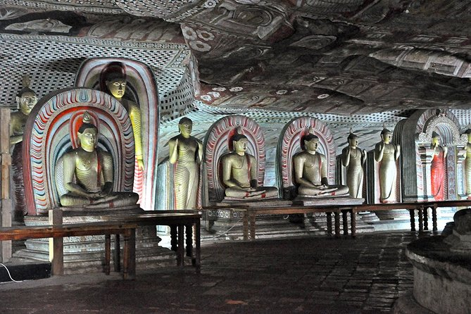 Transfer from Colombo to Trincomalee or Nilaveli - Dambulla & Safari en route
