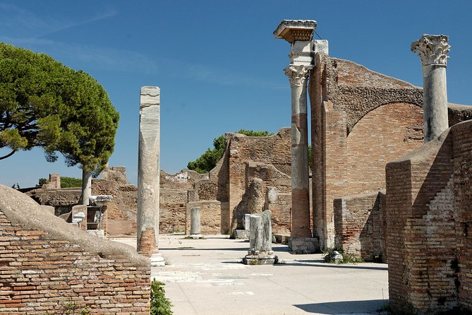 Ancient Ostia Ruins Roman Port of Ostia Antica Fullday from Rome