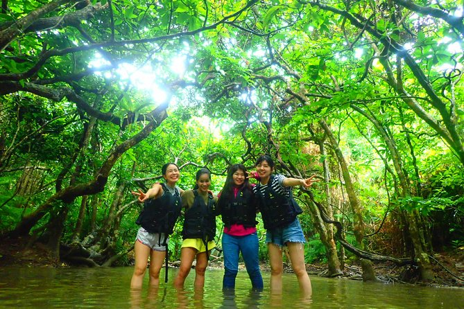[Okinawa Iriomote]SUP/Canoe Tour at Mangrove Forest+Splash Canyoning!!
