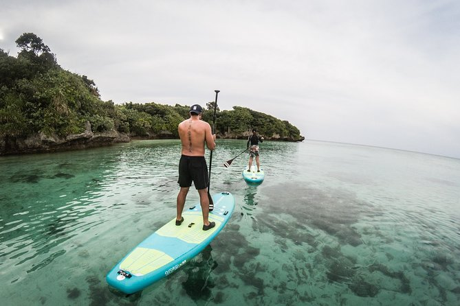 Guided Stand Up Paddle Experience at Kabira Bay