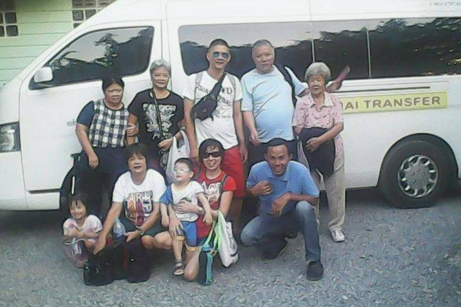 Private Minivan Bangkok Airport Transfer