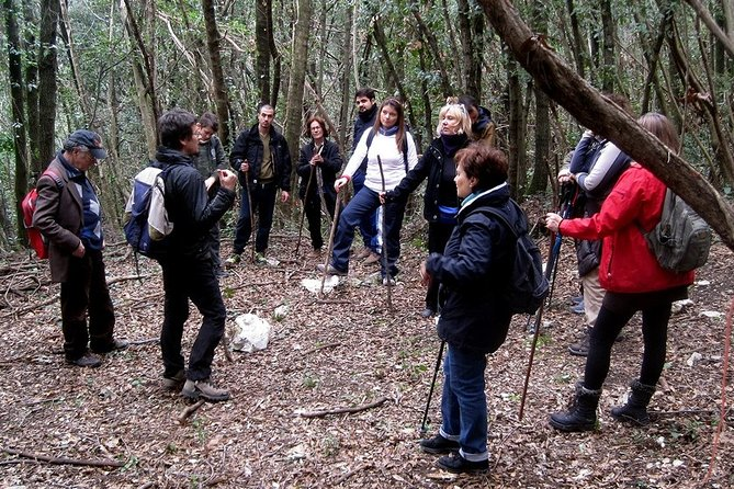Geo-anthropological trekking on the charcoal burners' paths in Sabina