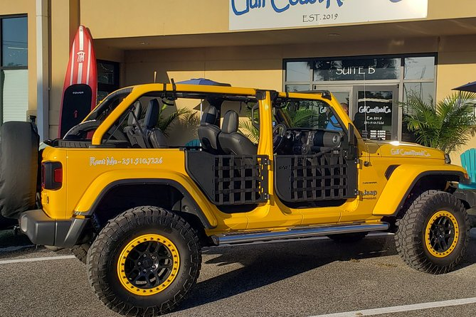 4-Door Convertible Jeep Rental in Orange Beach
