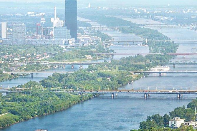 Cycling along the beautiful Danube banks