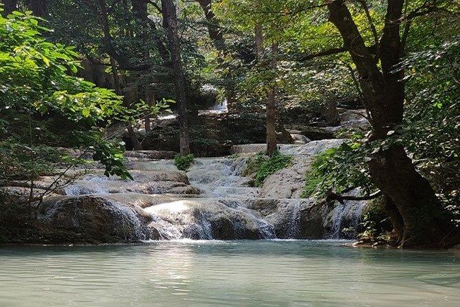 Private Erawan Waterfall & River Kwai Day Trip from Bangkok
