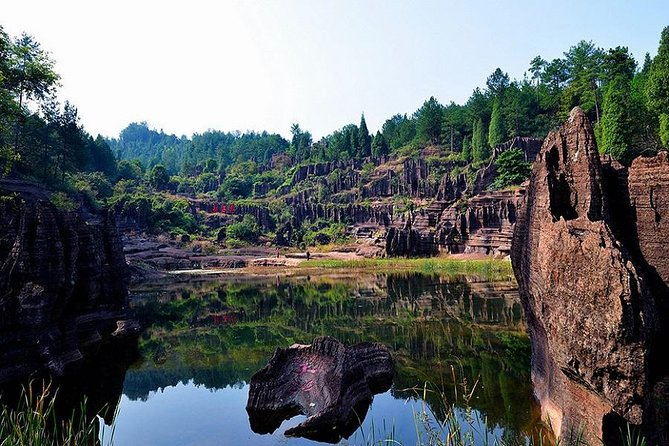 Discovery Tour to Furong Town and Red Stone Forest Private From Zhangjiajie