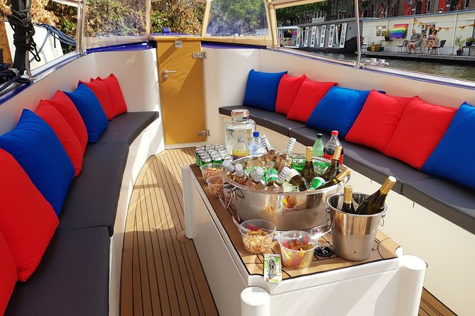 Private Amsterdam Booze Boat
