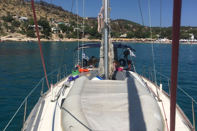 7 Hours long Sailing Cruise in South Thassos