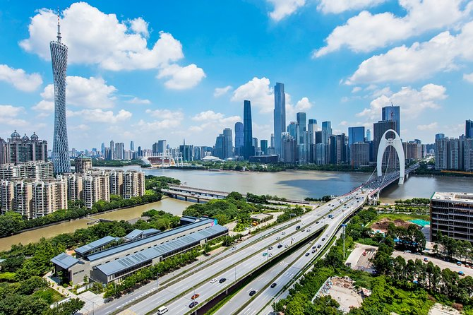 Self-Guided Guangzhou City Tour with Private Car and Driver Service